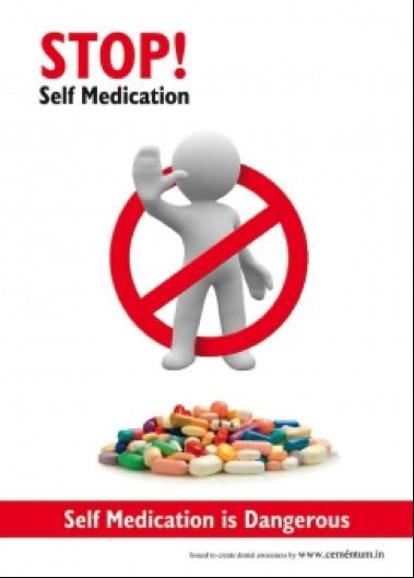 Image result for dont self medicate
